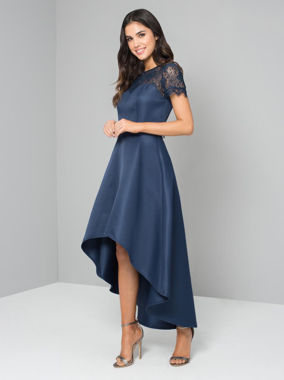 5092cfdf85b0 Chi Chi Jasper Modré Spoločenské Šaty - JoyStore.sk