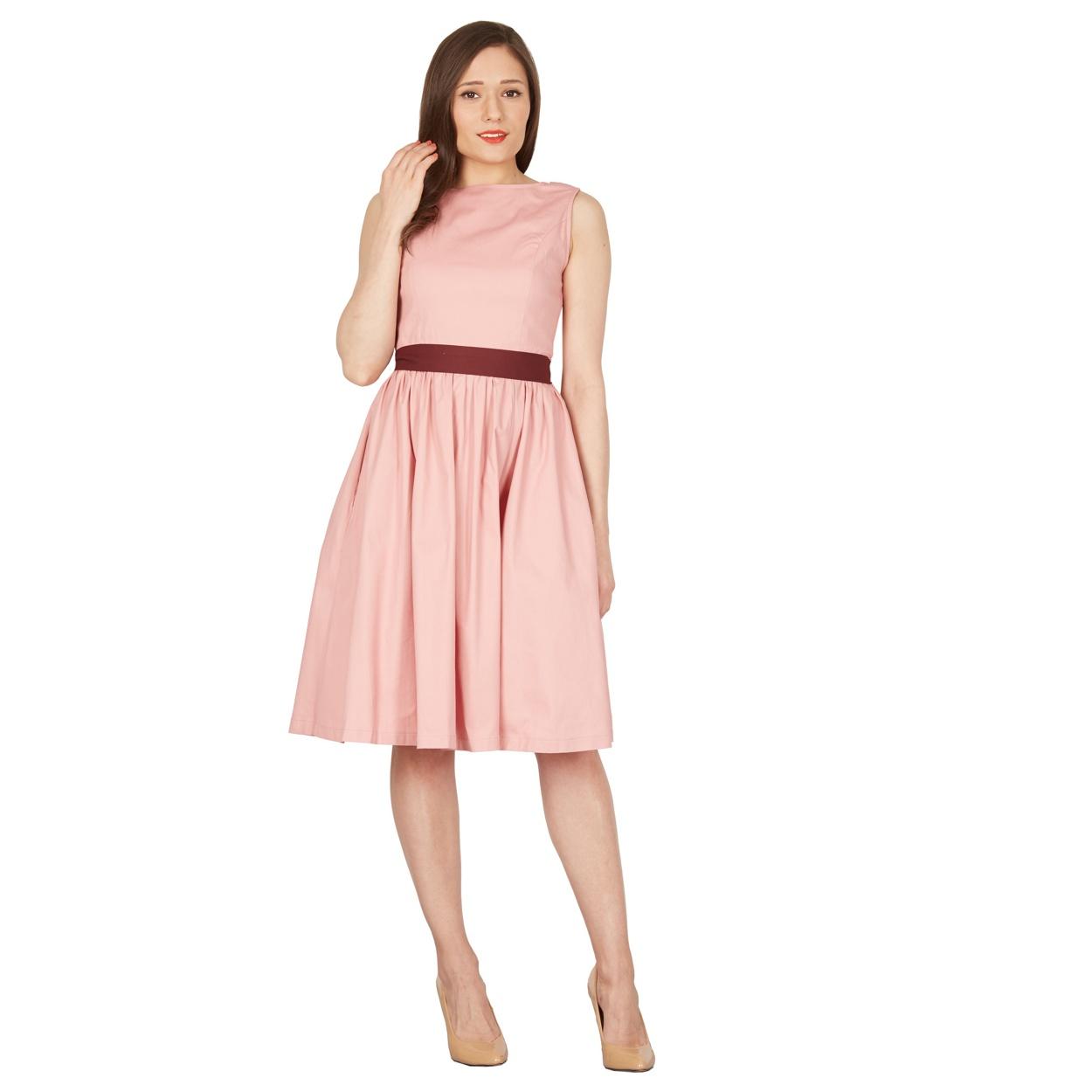 e6b6c57e49f5 Lindy Bop Audrey Svetlo-Ružové Šaty - JoyStore.sk