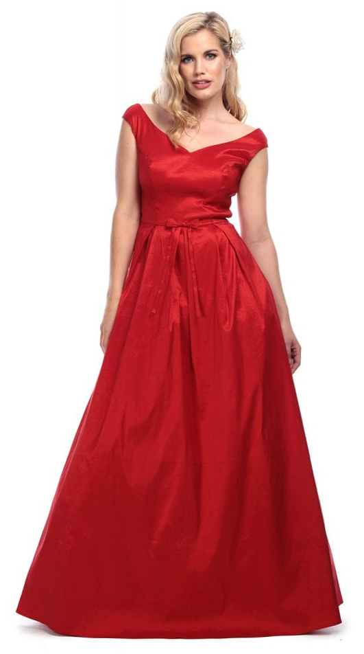 68d13d3a72d0 Vintage Miss Scarlet Maxi Dress - JoyStore.sk