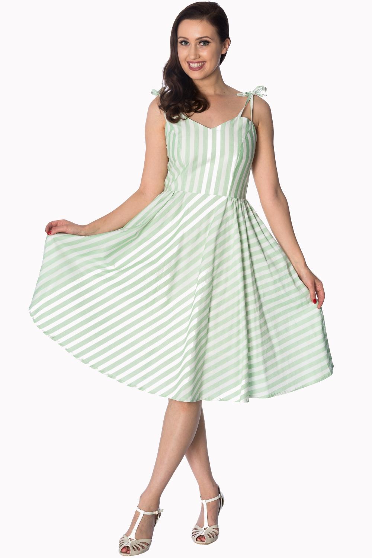 d5cc7b4ef7fa Banned Letné Zelené Pruhované Šaty - JoyStore.sk