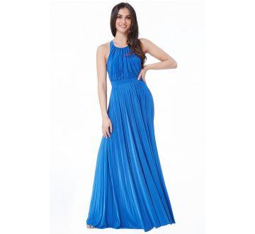2832d21e50fd Maxi šaty - kráľovská modrá
